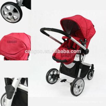 2015 estilo europa 300D poliester bebê pram 3in 1, carrinho bebê
