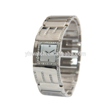 China factory waterproof alloy quartz chain girls watch