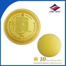 Schönes Europa kennzeichnet Münze Gold überzogene Münzenstempel-Münze