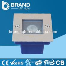 IP65 Außen-Außeneinbau-Schritt-Licht 1W LED-Schritt-Licht, CER RoHS