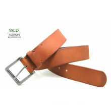 Fashion Basic Genuine Top Leather Men′s Belt Lky1216