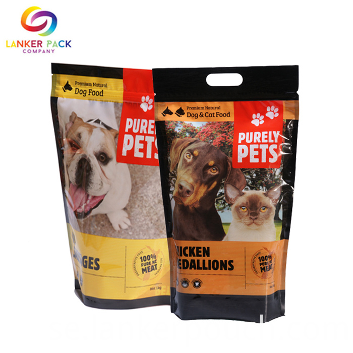 Resealable Plastic Dog Food Bag With Zipper