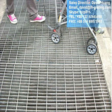 galvanized grating metal, galvanized safe grating,galvanized electro forge floor grating