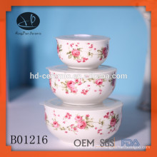 3pcs fresh seal bowl