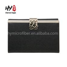 Multifuncional personalizar carteiras de mulheres reais de couro