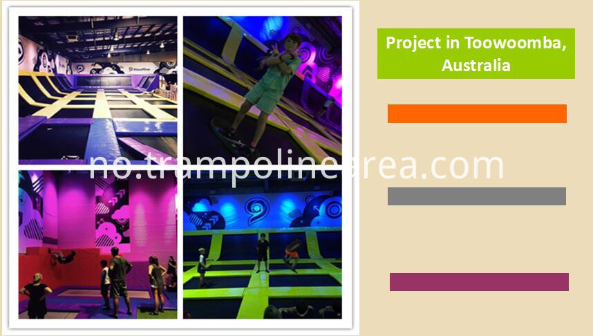 Projects of trampoline games