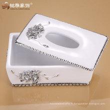 L'usine fournit directement une nouvelle conception de boîte en papier de soie de haute qualité pour le décor de la maison