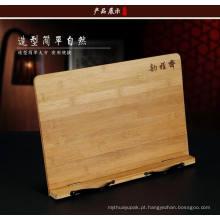 Suporte de madeira mais barato do telefone móvel / suporte da madeira almofada /