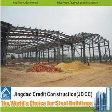 Struktur Stahlkonstruktion Design vorgefertigte Stahlstruktur Lager