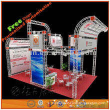 Creative fascinating exhibition fair stand manufactured in Shanghai