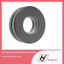 Aimant de NdFeB cannelure N48m Metal Ring