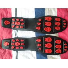 Novos sapatos de couro Sole Leisure Sole sapatos Driver Sole Wear-Resisting sola de borracha (YX06)