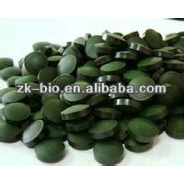 Tableta de espirulina de calidad orgánica con mejores ventas