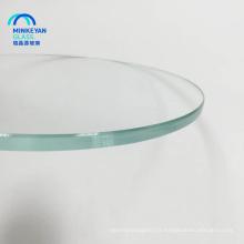 vente bonne usine de table en verre trempé de Chine