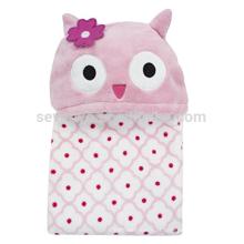 Cobertor de toalha com capuz reino mágico, 100% algodão, super macio, lavável na máquina, melhor presente do chuveiro para as meninas
