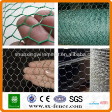 ISO9001: 2008 Real factory supply Mesh métallisé hexagonal bon marché galvanisé