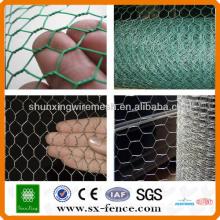 ISO9001: 2008 Real factory supply Mesh métallisé hexagonal bon marché galvanisé