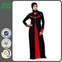 2016 Formal Elegant Black Women Malaysia Kaftan