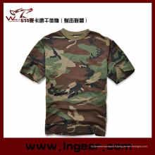 Camouflage manches courtes T-Shirt T-Shirt militaire