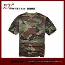 Camouflage Short Sleeve T-Shirt Military T-Shirt