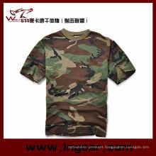 Camouflage Short Sleeve T-Shirt Military T-Shirt