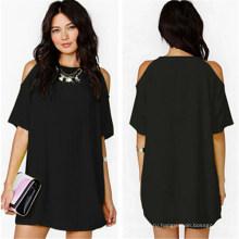 Лето сексуальный 2015 женщин шифон случайные короткие мини-платье (50114-1)