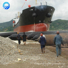 Inflatable industrial pressure rubber balloon for pontoon floating dock