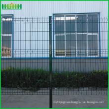 Precio de fábrica barato y fino China valla de malla de alambre de 6 pies v malla de malla curvilínea