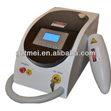 Eliminación de tatuajes 532nm & 1064 Q-Switch Nd-YAG Laser
