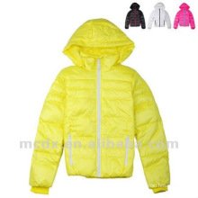Winter fashion ladies down coat with hood