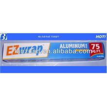 75SQFT, household aluminum rolls