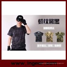 Seca rápida Kryptek Camo moda T Shirt para camisa esporte ao ar livre