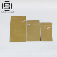 Food grade ziplock paper bags food storage pouches