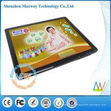 Настольное или настенное крепление LCD цифровая фоторамка 17 дюймов