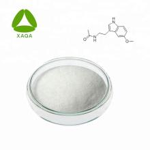 Materiales para blanquear la piel 99% Polvo a granel de melatonina 73-31-4