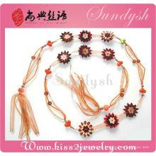 Modeschmuck Kleid Zubehör Handmade Stoff Blume Utility Belt