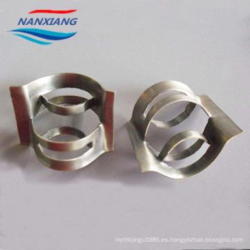 Embalaje de torre de anillo conjugado de metal para filtro de medios