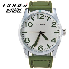 2015 hot selling promotional high quality SHINOBI Silicone Jelly watches