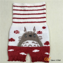 Snow Yarn Elastic Knitted Haramaki Short Pants