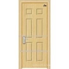 Puerta ignífuga de madera de alta calidad con certificado