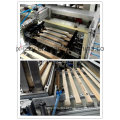 Máquina de impressão de almofada de régua de plástico
