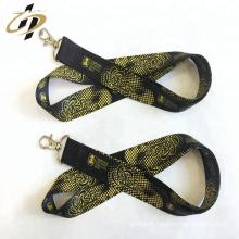 Ruban de satin élastique imprimé logo personnalisé pour étiquette de vêtement en rouleau