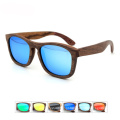 FQ marca legal natureza madeira polarizada óculos de sol de madeira personalizados