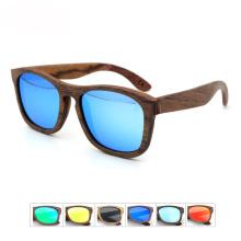 Gafas de sol de moda de madera polarizadas de madera de la naturaleza de la marca FQ FQ