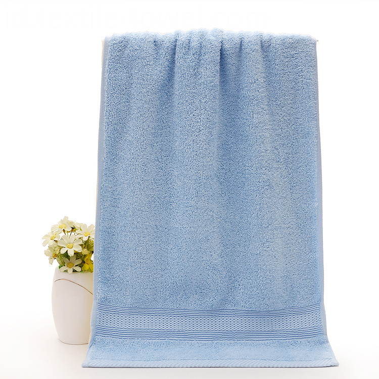 Plain Silver Face Towels