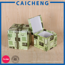 Cajas de regalo cuadradas personalizadas para chocolates