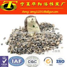 Mineral de alúmina calcinada de bauxita de grado refractario metalúrgico