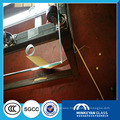 high security clear tempered glass doors
