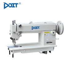 DT 0303 Alta velocidade única agulha superior e inferior composto alimentação máquina de costura industrial de ponto fixo pesado