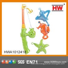 Plástico crianças brinquedo magnético jogo de pesca jogo brinquedo barato da China